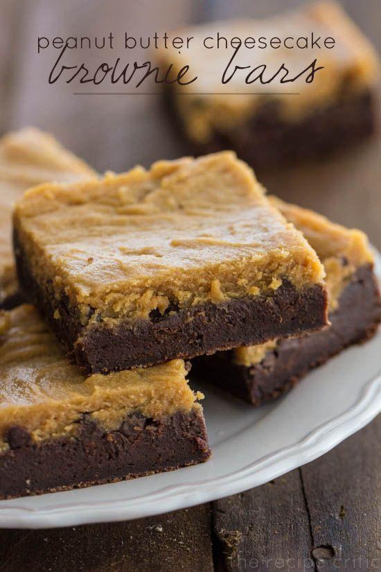 Peanut Butter Cheesecake Brownie Bars | The Recipe Critic @Alyssa {The Recipe Critic}