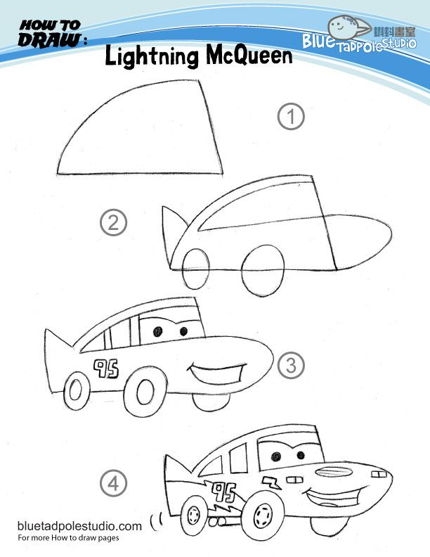 a handful of tips to draw cartoon items my kids still love lightening mcqueen so how to draw carsdrawing