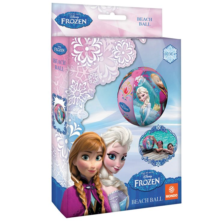 Disney Frozen Strandbal Afmeting:Ø 50 cm - Disney Frozen Strandbal BT
