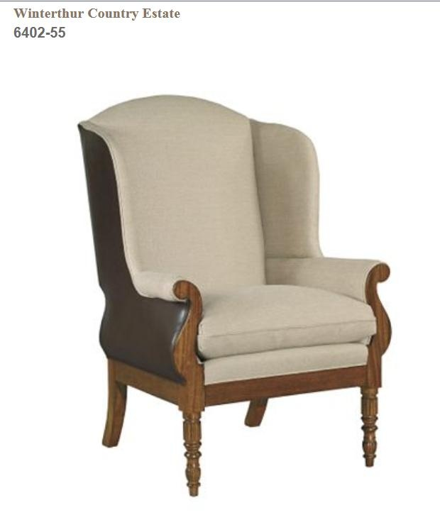 Sophie Wing Chair From The Winterthur Country Estate Collection By Hickory  Chair Furniture Co.