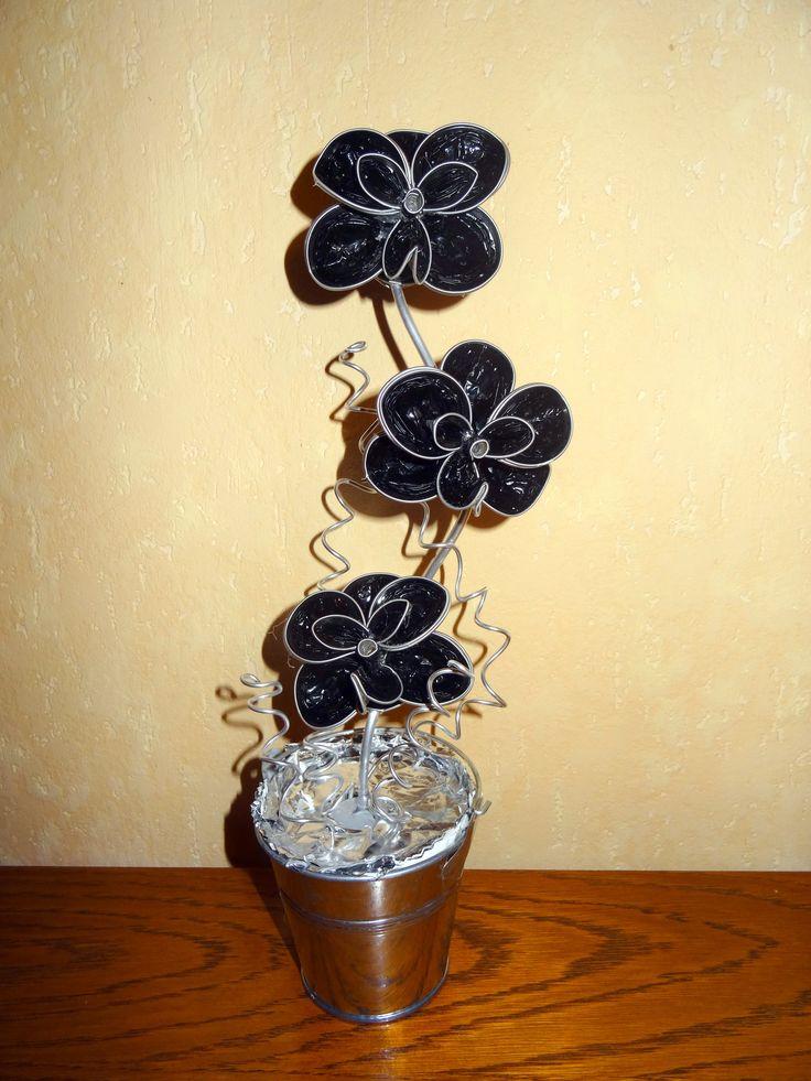 orchidées en capsules nespresso de Joelle Pinet