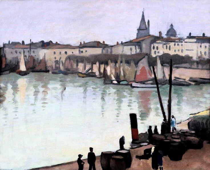Le port de La Rochelle, 1920 by Albert Marquet