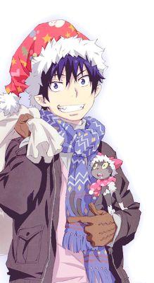 Anime Christmas Boy Drawing