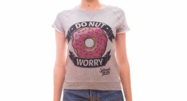 Le T-shirt Donut Worry de Spharell we are