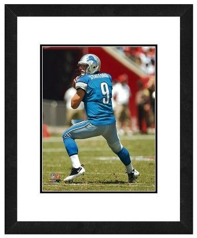 NFL Detroit Lions Matt Stafford Framed Photo