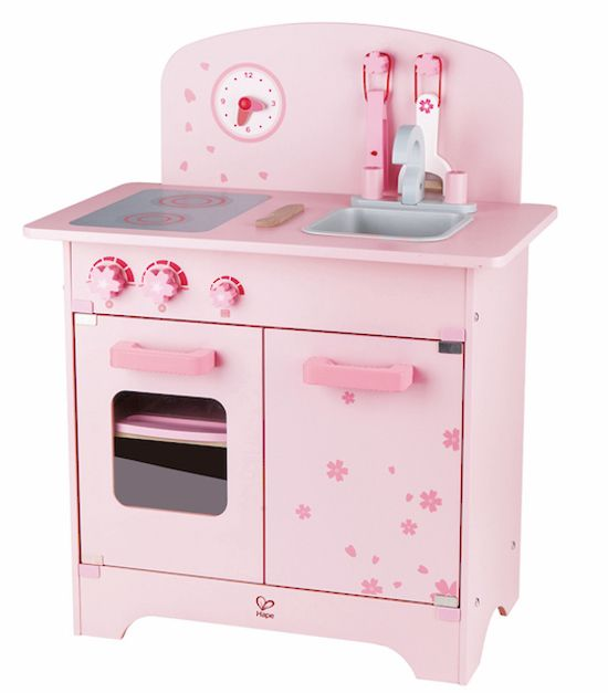 Pink Play Kitchen | HAPE Toys | Online at DirectToys NZ