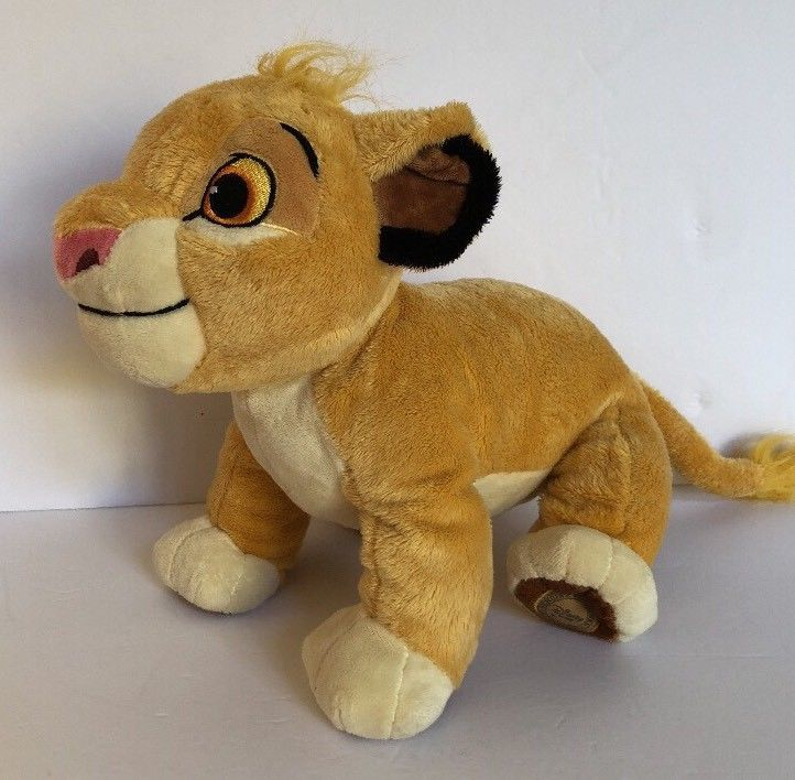 Disney Lion King Exclusive Young Simbia Plush Stuffed Soft Toy From Disneys 14"