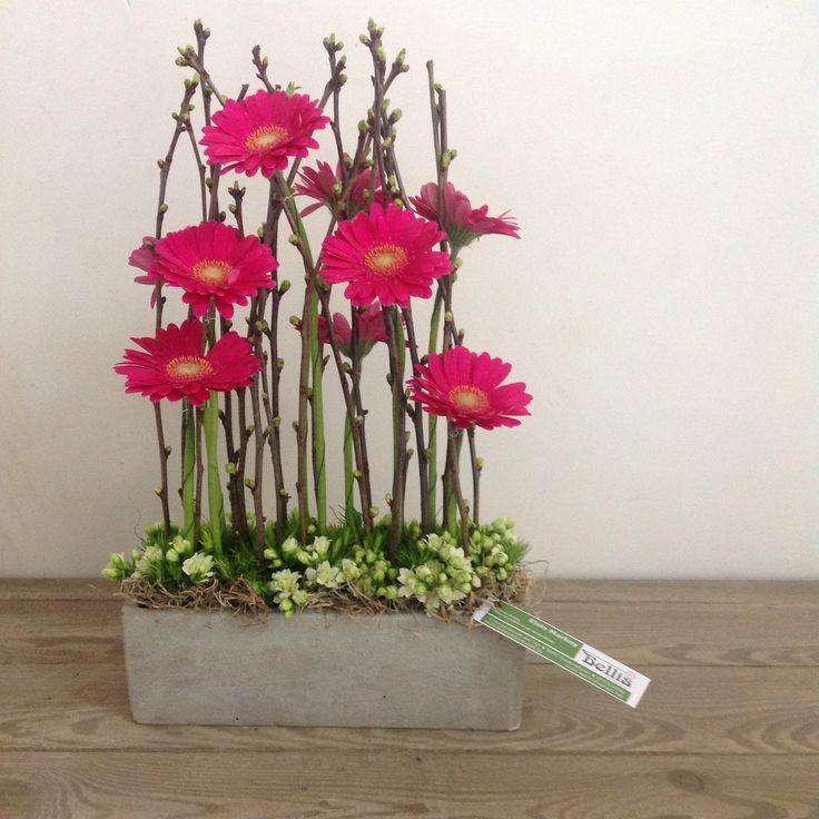 Parallel bloemstuk
