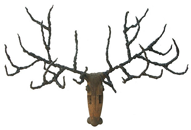 Large Reindeer Head on OneKingsLane.com