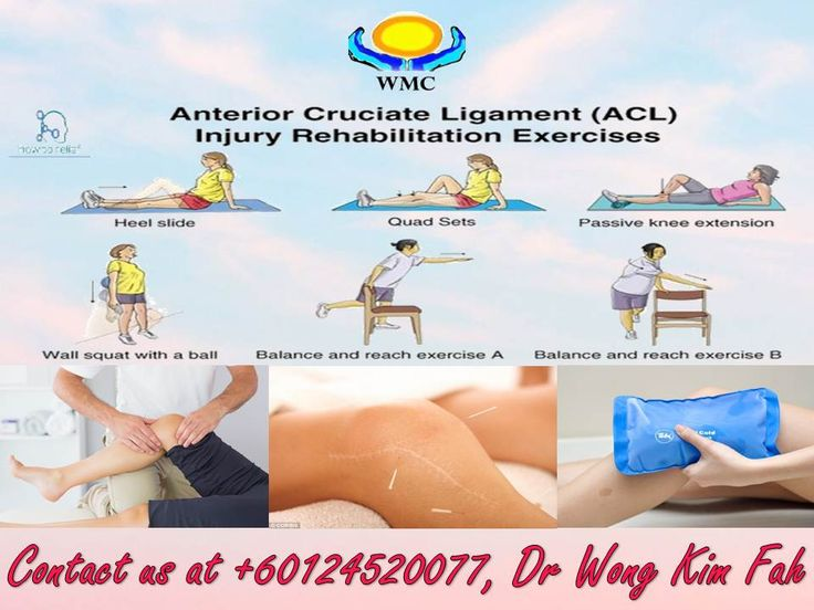 Anterior cruciate ligament also known as ACL Injury is a cruciate ligament of each knee that attaches the front of the tibia with the back of the femur and functions especially to prevent hyperextension of the knee and is subject to injury especially by tearing. For your information, our centre provides phyneotherapy treatment and rehabilitation exercise for those are suffering from ACL Injury. Kindly contact us at +60124520077 / 05-3114022 for further information regarding this problem.