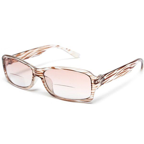 Lectura de ojos bifocales multifuncionales unisex Gafas Sun Gafass Fuerza 1.0 1.5 2.0 2.5 3.0 3.5