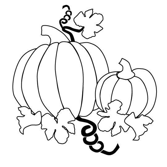 free pumpkin vine coloring pages - photo#29
