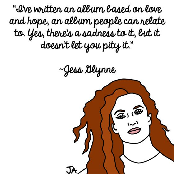 Jena Ardell Singer-songwriter Jess Glynne has conquered the charts in the UK--now she's hoping to find the same success in the U.S. Glynne recently became...