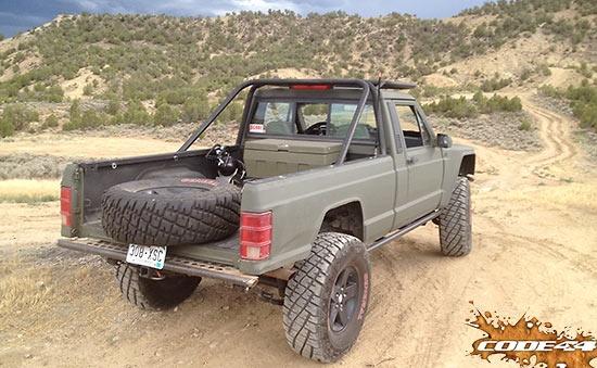 1991 Jeep Comanche (MJ)   Mighty Machines   Pinterest ...