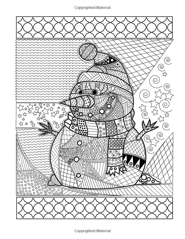 Merry Christmas Adult Colouring Book The Creative And Cheerful Gift For Best
