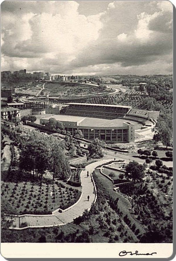 Beşiktaş İnönü stadı 1950 ler