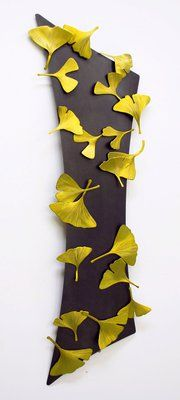 Ginko Abstract Wall piece