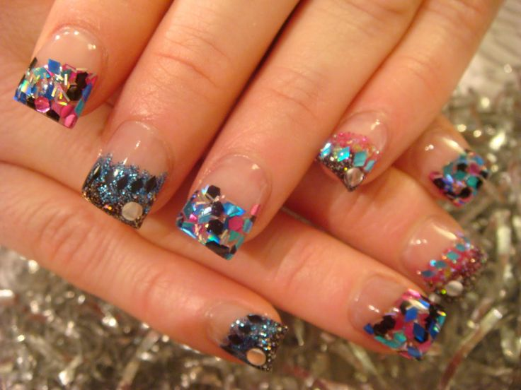 Glitter Gel Nail Designs | Glitter Toe Nail Designs | 546 : Image Gallery  300 |