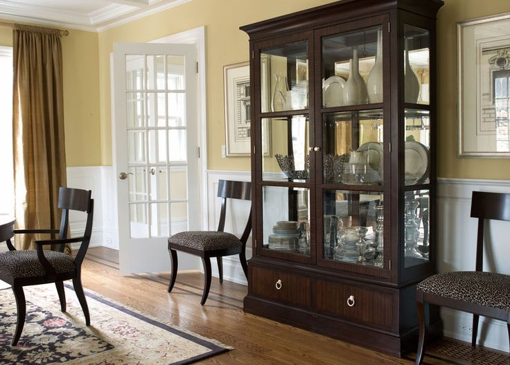 From Ethanallen Brighton China Cabinet Dining Room