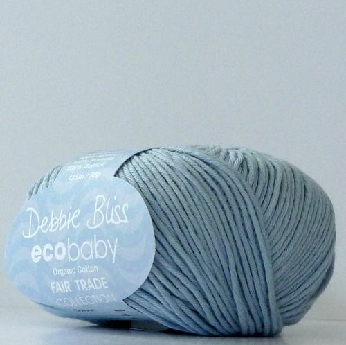 Eco Baby färg 40 Baby Blue Fair Trade Hook 3-3,5 mm