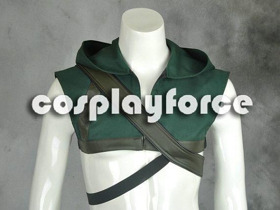Green Arrow Oliver Queen America Cosplay Costume by cosplayforce, $29.00