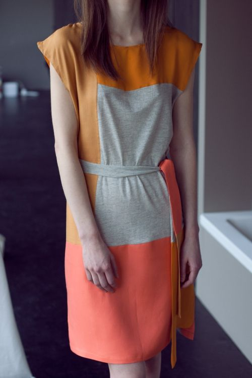 Kostenlose Nähanleitung inklusive Schnittmuster zum Download: Patchwork-Kleid - Initiative Handarbeit