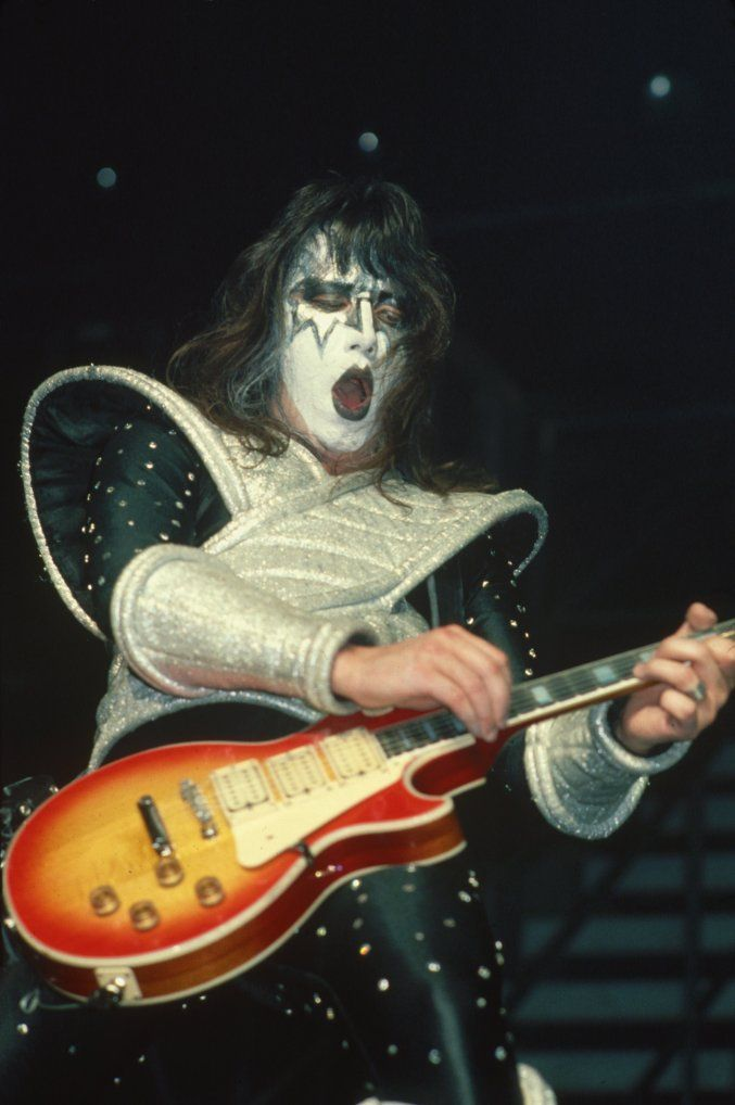 Kiss Band Ace Frehley Live 1978 20 X 30 Custom Poster Rock Music