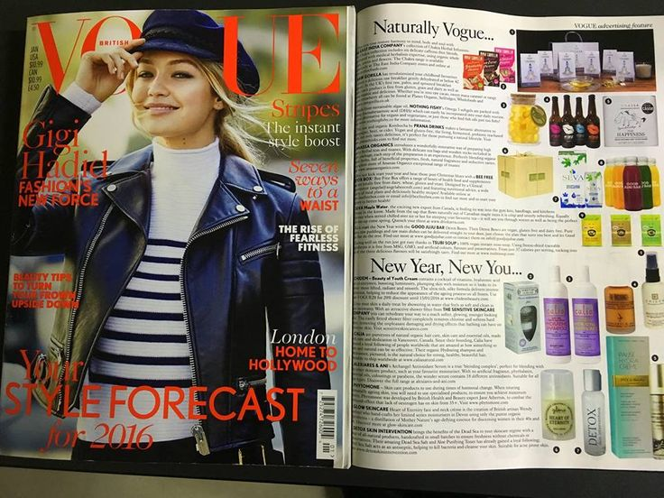 This new year restore harmony to mind, body and soul with Anassa Pure Happiness! British Vogue January 2016, Naturally Vogue...   https://www.facebook.com/AnassaOrganicsGlobal/