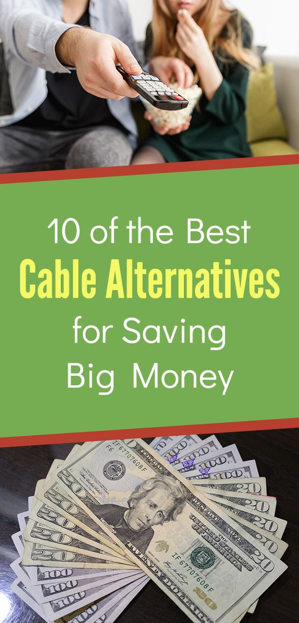 c50b0bd8c2900 10 of the Best Cable Alternatives for Saving Big Money. Save money by  cutting the cord or satellite and getting TV and movies for cheaper.