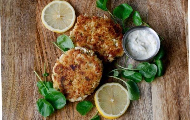 Maryland Crab Chops