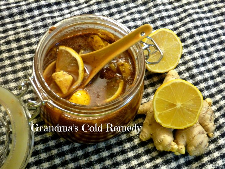 My Grandma's Cold Remedy Recipe – This is My Grandma's Cold Remedy. My family loves the flavor and the smell. Take 1 tablespoon 2 times a day. This is safe for pregnant women and children above age of 1. It gives you a lot of vitamins and antioxidants.h
