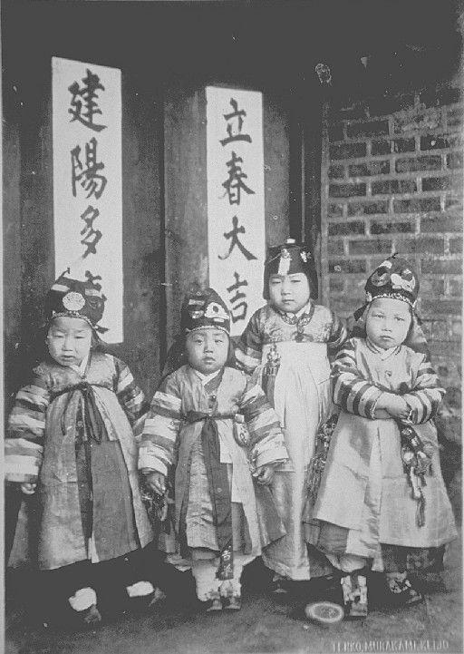 100년전 설날풍경2.jpg, 일본 무라야마지준