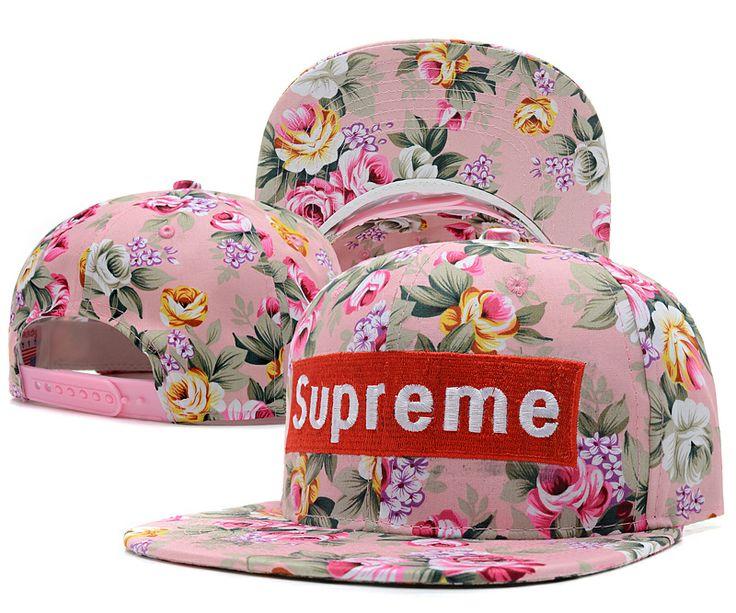 ... supreme snapback hats flower pink hats pinterest snapback hats hats and  snapback