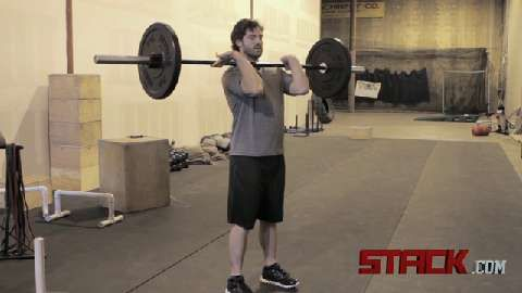 Power Clean - Josh Courage, head CrossFit coach at Courage Performance, teaches how to perform the Power Clean.