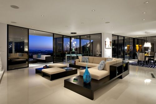 Bright: Home Theater, Open Plans, Dreams Houses, Chic Home, Minimalist Chic, Interiors Design,  Home Theatre, Lounges Rooms, Luxury Living Rooms