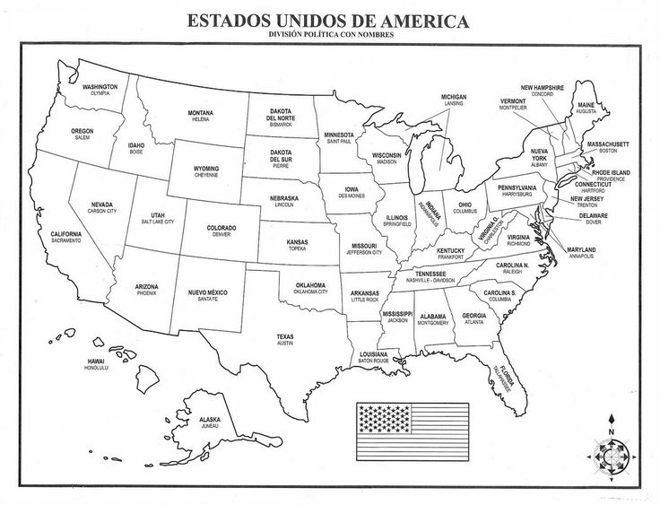 Ms de 25 ideas increbles sobre Mapa de estados unidos en