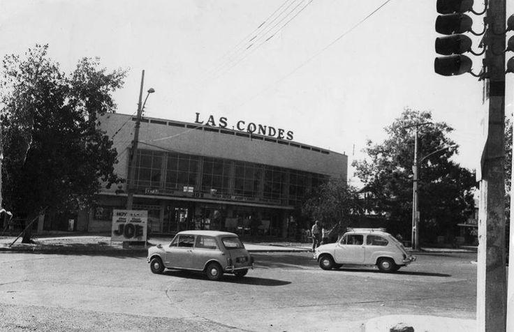 Cine Las Condes en 1972.