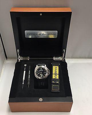 Officine Panerai Luminor Submersible Firenze automatic watch OP 6771 w / box