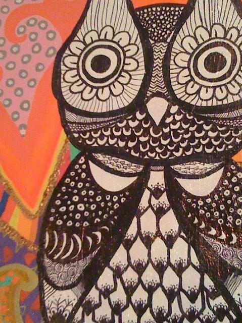 own my owl by Natália Wella, via Flickr