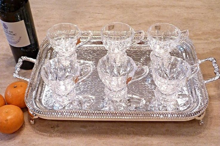british hot toddy glass crystal vintage - Google-haku