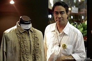 John created the replica costumes of Philippines' National Hero, Jose Rizal during the traveling museum June 16-19, 2012,  set up at the Philippine Embassy in Brussels.