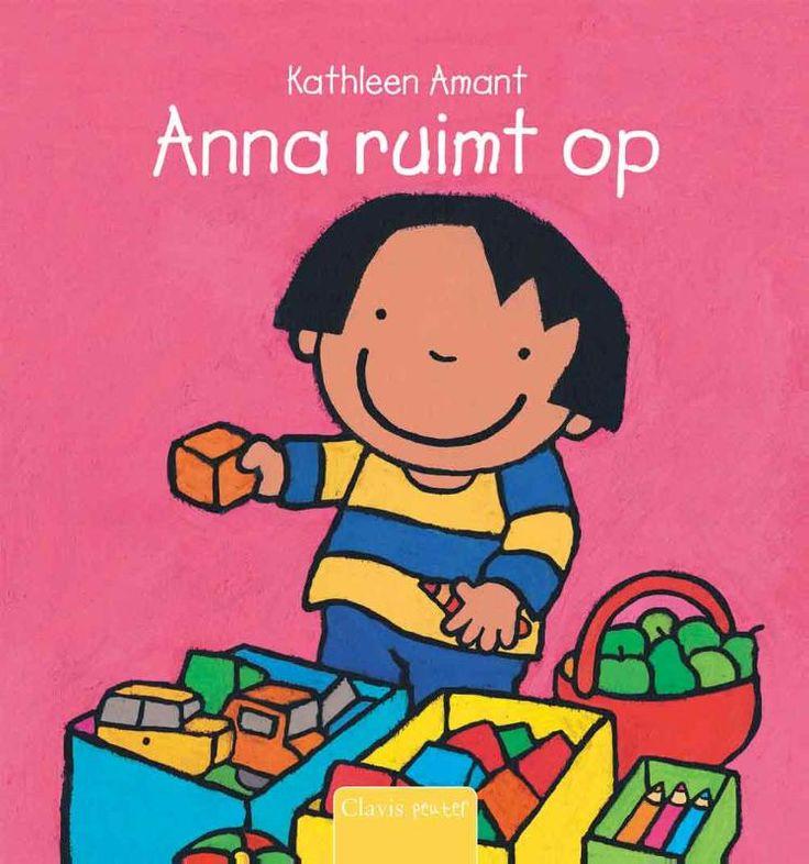Deelthema: 'Goede afspraken, goede vrienden!' Prentenboek: 'Anna ruimt op' van Kathleen Amant