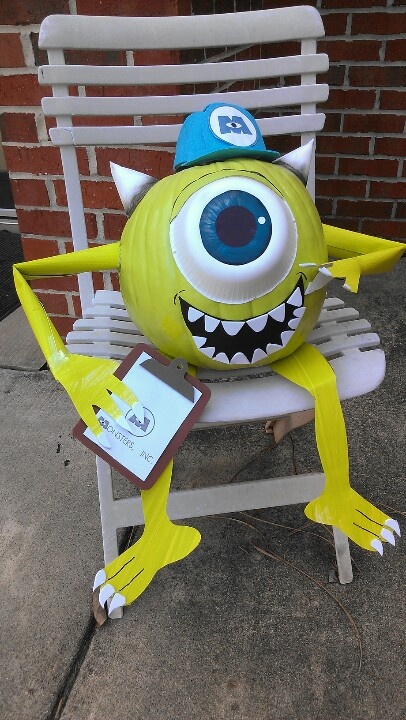 Mike wazowski pumpkin-K's choice