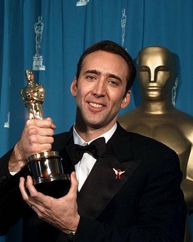 """Nicolas Cage - Best Actor Oscar for """"Leaving Las Vegas"""" 1995"""