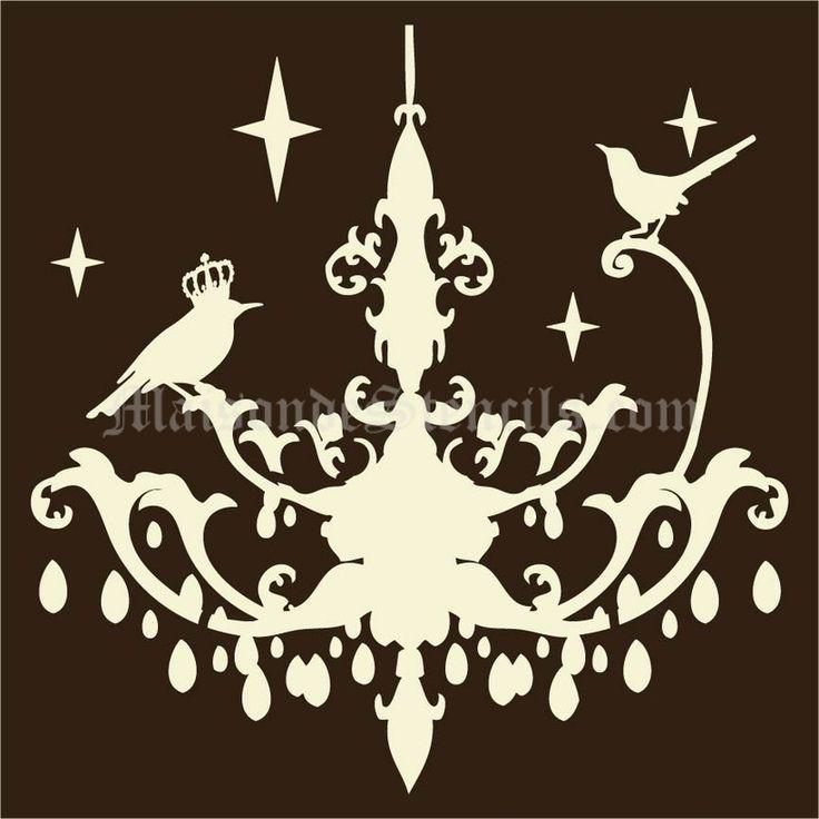 105 best stencil images on Pinterest Silhouette cameo, Silhouettes - la maison de l artisan