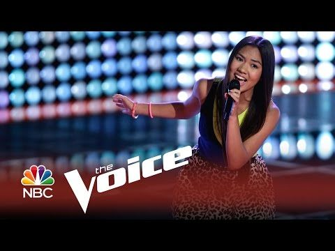 Katriz Trinidad sings 'At Last' on The Voice USA 2014 Blind Auditions