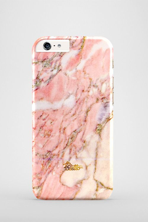 Lychee / iPhone Marble Case - Paletto shop | pink marble case