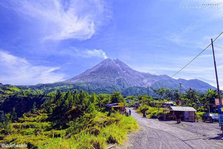 Gunung Merapi, Central Java, Indonesia. Perjalanan dari Kinahrejo menuju Merapi