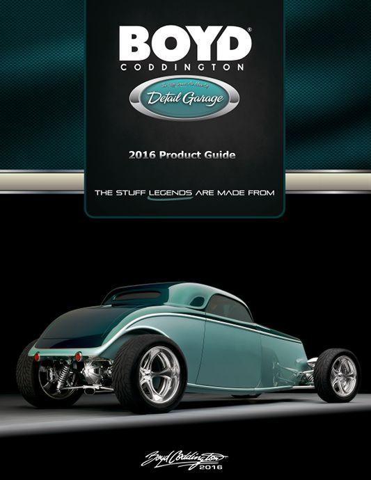 Boyd Coddington Detail Garage 2016 Product Guide