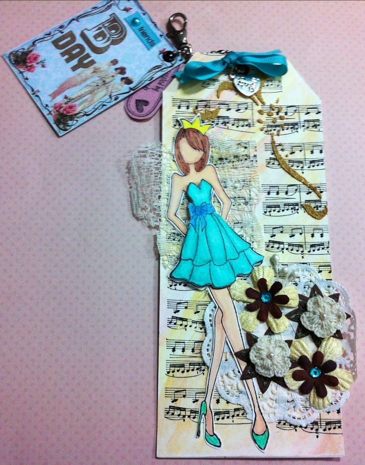 Dolls Prima My Create Pinterest Dolls Dress Card